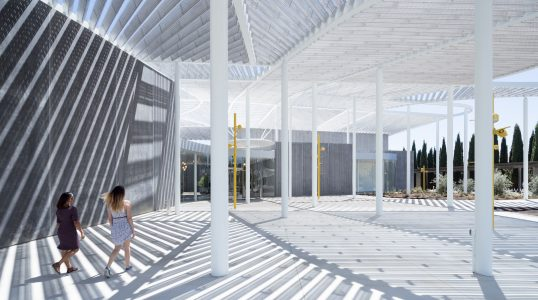 Events Plaza, under the Grand Canopy Jan Shrem and Maria Manetti Shrem Museum of Art