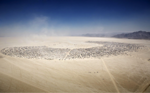 Aerial Burning Man, Photo: Scott London