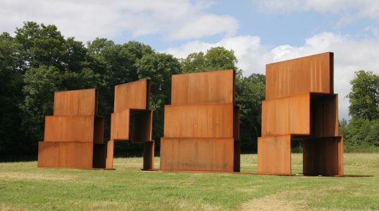Anthony Caro, 'Millbank Steps', 2004, rusted corten steel, 534 x 780 x 2307.3 cm.