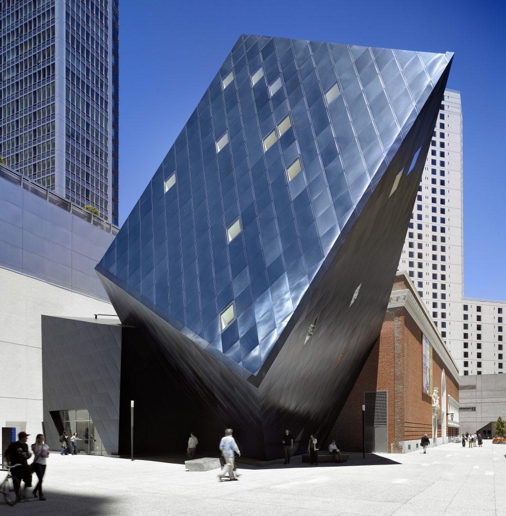 Contemporary Jewish Museum Location: San Francisco, CA Design Architect: Daniel Libeskind Architect of Record: WRNS Studio