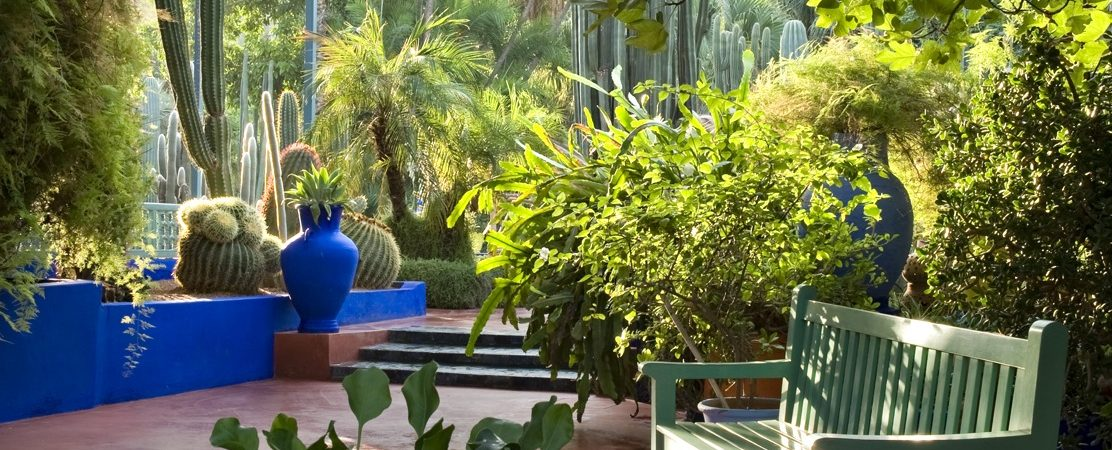 Discover Vibrant Colors Of Marrakesh In This Designer S Garden Oasis
