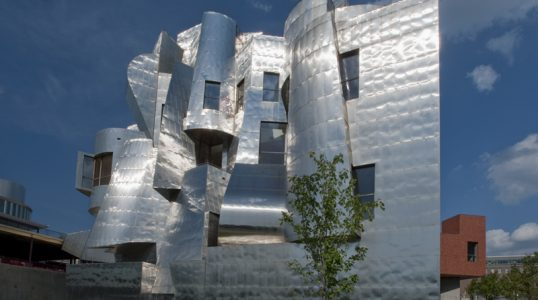 WAM Exterior, Courtesy of the Weisman Art Museum at the University of Minnesota.