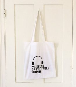 Tote bag, Museum of Portable Sound