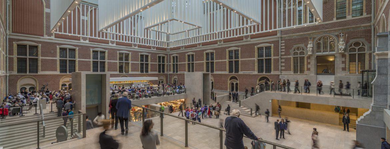 Rijksmuseum, Atrium Oost,2013