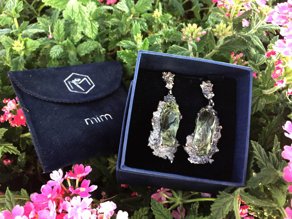 Earrings from the Mineral Museum in Beirut ©MuSEEum