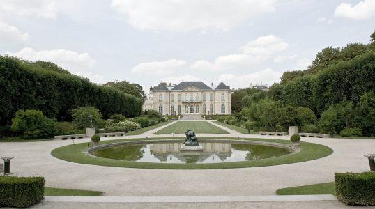 L'hôtel Biron et son jardin
