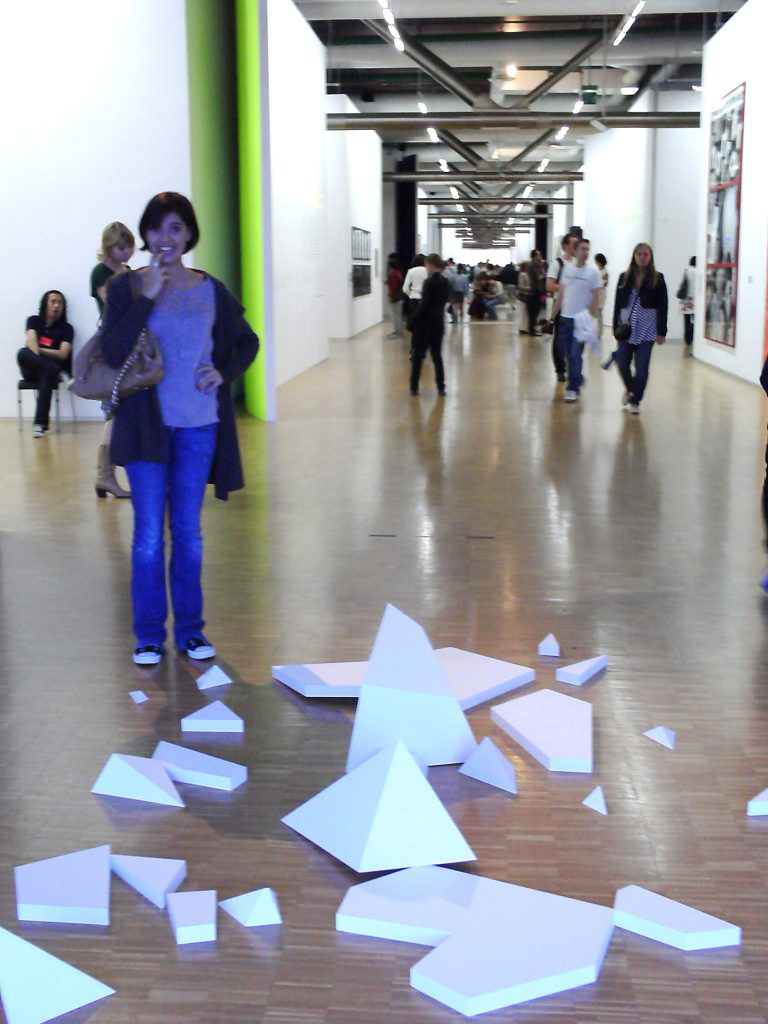Lina in the Centre Pompidou