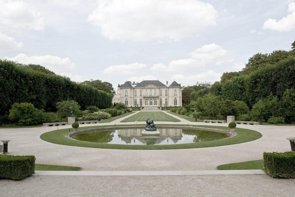 L'hôtel Biron et son jardin, © agence photographique du musée Rodin – Jérôme Manoukian