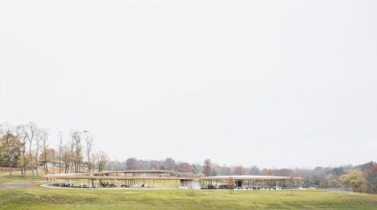 Grace Farms, the River building