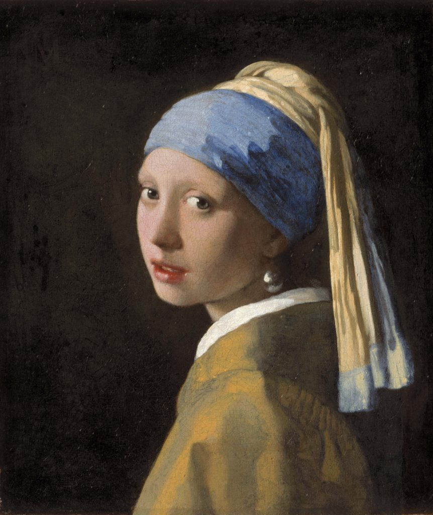 Girl with a Pearl Earring by Johannes Vermeer Credits: Mauritshuis, Den Haag