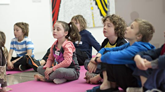: NGA children's meditation, children's holiday program